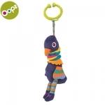 Oops Peacock Piekaramā vibrējoša attīstoša rotaļlieta bērniem no 3m+ (36x8x12cm) Krāsaina 11014.14
