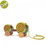 Oops Snail Koka attīstoša rotaļlieta bērniem no 12m+ (15.8x5.5x25.2cm) Krāsaina 17005.13