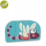 Oops Dragonfly Koka attīstoša rotaļlieta bērniem no 12m+ (Iepak. izm. 16x3.4x11cm) Zila 16007.31