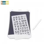 Tootti CreoTab Digitāla Zēmēšanas 8.5''LCD Planšete ar 2-Pušu Stilusu priekš Bērniem (3+) ar Tablet-Batereju Balta