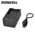 Duracell Analogs Sony BC-CSNB BC-CSN USB Lādētājs priekš TX7 TX9 NP-BN NP-BN1 Akumulātora