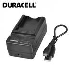 Duracell Analogs Panasonic DE-A46 USB Lādētājs priekš Lumix DMC-TZ11 DMC-TZ15 CGA-S007 Akumulātora
