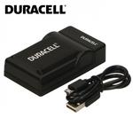 Duracell Analogs Sony BC-TRX USB Plāns Lādētājs priekš NP-BX1 BG1 FG1 BN1 Akumulātora