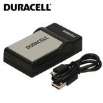 Duracell Analogs Canon CB-2LCE Foto kameras PowerShot SX40 SX50 SX60 USB Plāns Lādētājs priekš NB-10L Akumulātora