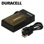 Duracell Analogs Canon CB-5L Foto kameras EOS 40D 50D 300D Plāns USB Lādētājs priekš BP-511 / BP-512 Akumulātoriem