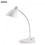 Remax RL-E500 Time Nolokāma Poratīvā Galda-Klipša 3-Spožumu Led Galda Lampa ar iebūvētu akumulātoru Balta