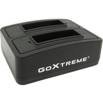 Goxtreme aksesuāri GoXtreme Battery Charging Station Dual Vision 4K 01492