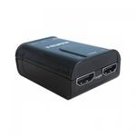 Audio/video atskaņotāji Techly Audio/Video splitter HDMI 1.4 1/2 4K*2K 3D power from USB