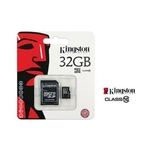 Micro SD 32GB Class 10+ Adapter Kingston atmiņu karte
