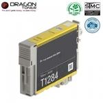Dragon Epson T1284 Dzeltens Tintes Kārtridžs 13ml priekš SX125 BX305 uc.(C13T12814010) HQ Premium Analogs