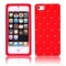 Apple iPhone 5 Luxury Diamond Red Silicone Case Cover Bumper maks