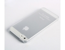 Apple iPhone 5 Ultra Thin Clear Snap on Silicone Case Cover Skin Back Case Cover maks vāciņš