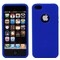 Apple iPhone 5 Blue Silicone Case Cover Bumper maks