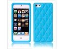 Apple iPhone 5 Luxury Diamond Sky Blue Silicone Case Cover Bumper maks