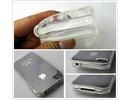 Apple iPhone 4/4S Silicone Soft Crystal Clear Back Case Bumper maks