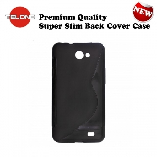 Telone Back Case S-Case gumijots telefona apvalks Nokia X / Dual Sim Meln  5.69