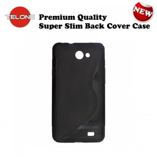 Telone Back Case S-Case gumijots telefona apvalks Nokia X / Dual Sim Zils  5.69