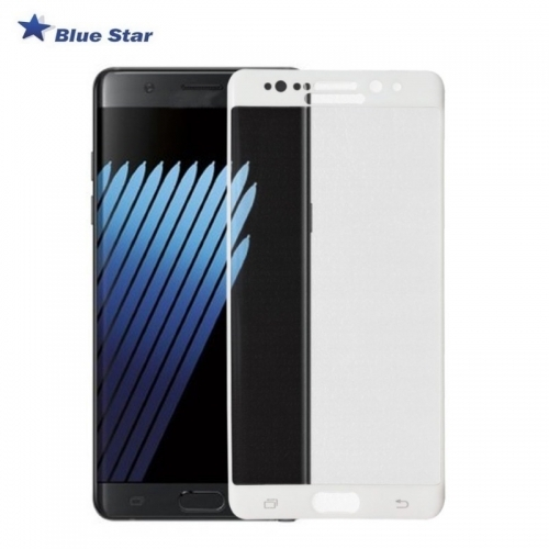 Bluestar BS Tempered Glass 9H Extra Shock Aizsargplēve-stikls Samsung N930F Galaxy Note 7 Full Face Balts (EU Blister)