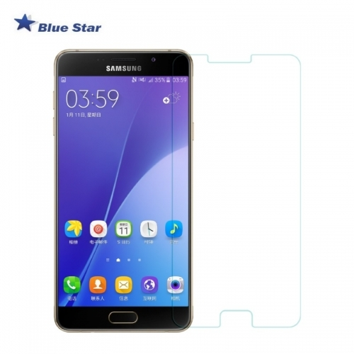 Bluestar BS Tempered Glass 9H Extra Shock Aizsargplēve-stikls Samsung A710F Galaxy A7 (EU Blister)