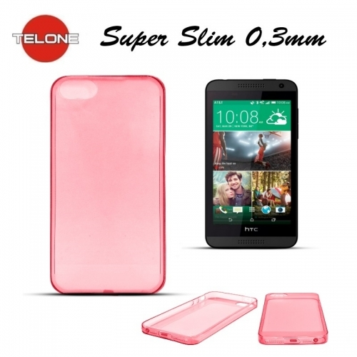 Telone Ultra Slim 0.3mm Back Case HTC Desire 816 super plāns telefona apvalks Koraļu
