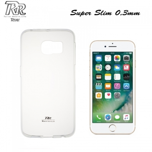 "Roar Super PlÄ?ns 0.3mm Premium KvalitÄ?tes Aizmugures Apvalks Apple iPhone 7 4.7"" CaurspÄ«dÄ«gs (EU Blister)"