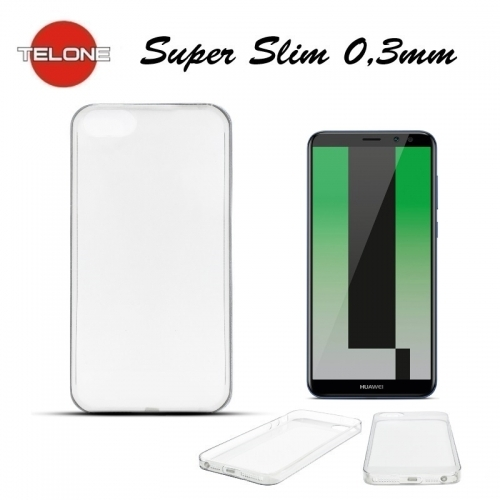 Telone Ultra Slim 0.3mm Back Case Huawei Mate 10 Lite / Nova 2i / G10 super plÄ?ns telefona apvalks CaurspÄ«dÄ«gs