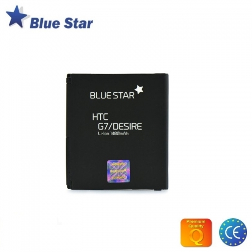 Bluestar Akumulators HTC G7 Desire Nexus One Li-Ion 1400 mAh Analogs BB99100 (BA S410)