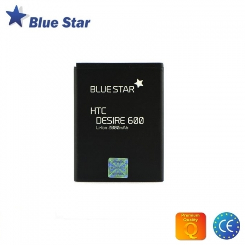 Bluestar Akumulators HTC Desire 600 610 M8 Li-Ion 2000 mAh Analogs BM60100 (BS S890)