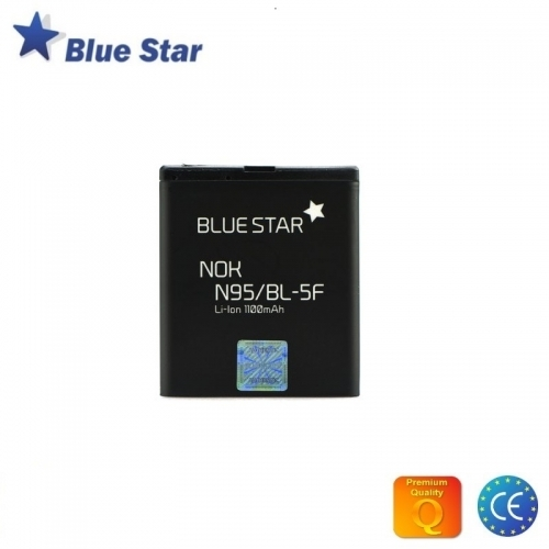 Bluestar Akumulators Nokia N95 N96 E65 Li-Ion 1100 mAh Analogs BL-5F
