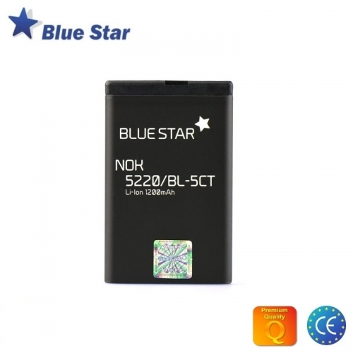 Bluestar Akumulators Nokia C3-01 C5 C6-01 Li-Ion 1200 mAh Analogs BL-5CT
