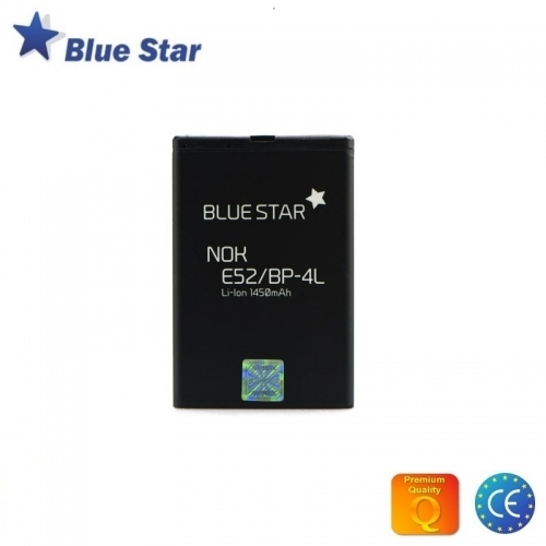 Bluestar Akumulators Nokia E52 E55 E6 N97 Li-Ion 1450 mAh Analogs BP-4L