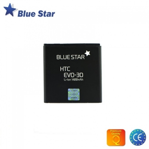 Bluestar Akumulators HTC Evo 3D Sensation XE/XL Li-Ion 1400 mAh Analogs BA S590