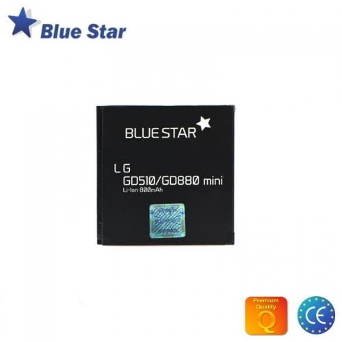 Bluestar Akumulators LG GD510 GD880 Mini Li-Ion 800 mAh Analogs LGIP-550N