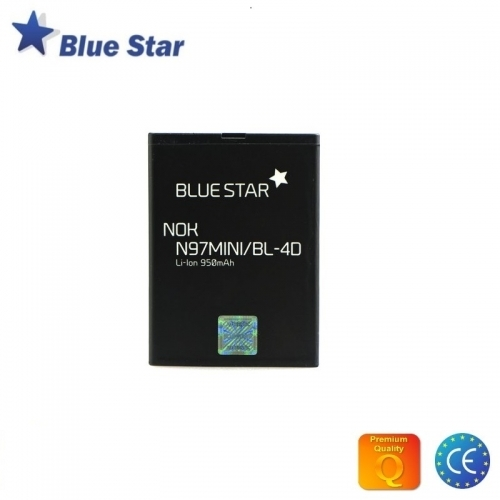 Bluestar Akumulators Nokia N97 Mini E5 N8 950 mAh Li-Ion BL-4D