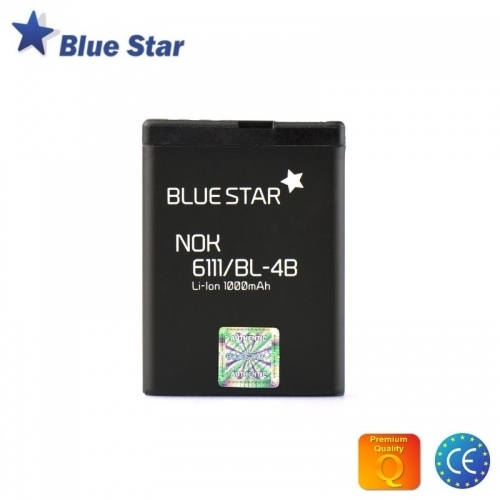 Bluestar Akumulators Nokia 6111 N76 7500 Li-Ion 1000 mAh Analogs BL-4B