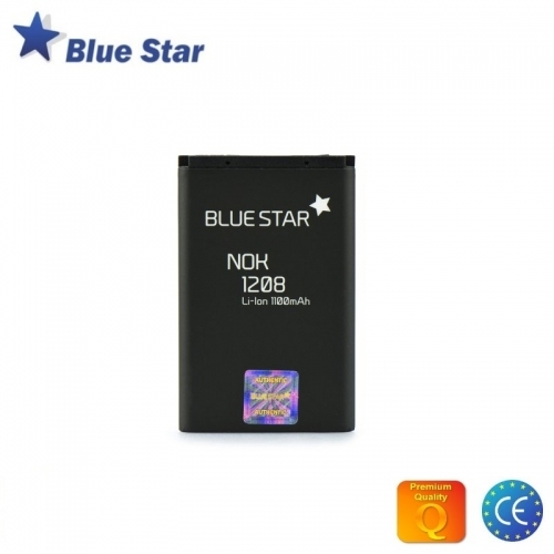 Bluestar Akumulators Nokia 1100 1200 Li-Ion 1100 mAh Analogs BL-5CA