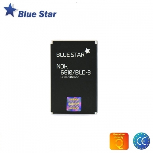 Bluestar Akumulators Nokia 6610 7250i 7210 Li-Ion 900 mAh Analogs BLD-3