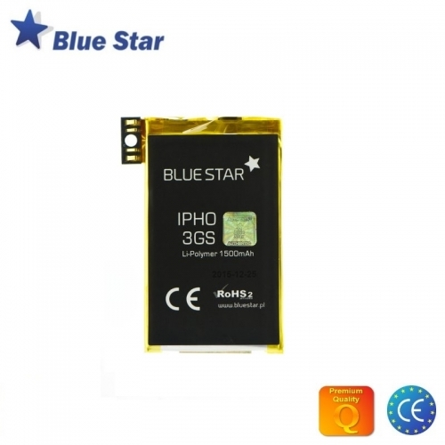 Bluestar Akumulators Apple iPhone 3GS Li-Ion 1500 mAh Analogs 616-0435