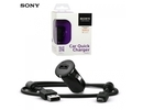 Samsung Sony AN401 Universal 1.2A USB Plug Car 12/24V Quick Charger + 1.2m Micro USB Cable Black (EU Blister)