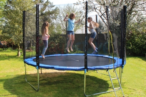 Trampoline 305cm + Safety Net + Ladders