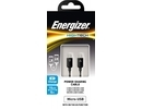 Energizer Hightech Micro-USB Power Sharing Cable 15cm black (C12MCMCABK4)