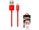 Energizer Hightech Lightning Cable 1.2m red (C11UBLIGRD3)