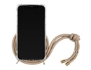 Lookabe necklace iPhone Xs gold nude loo008