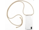 Lookabe necklace iPhone Xr gold nude loo009