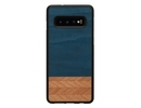 Samsung MAN&WOOD SmartPhone case Galaxy S10 denim black