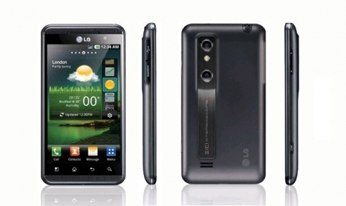 LG P720 Optimus 3D Max Black USED